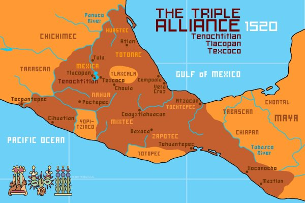 Aztec Empire World Map.20 Aztec Map Pictures And Ideas On Stem Education Caucus