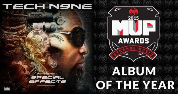 strange music MVP awards winners