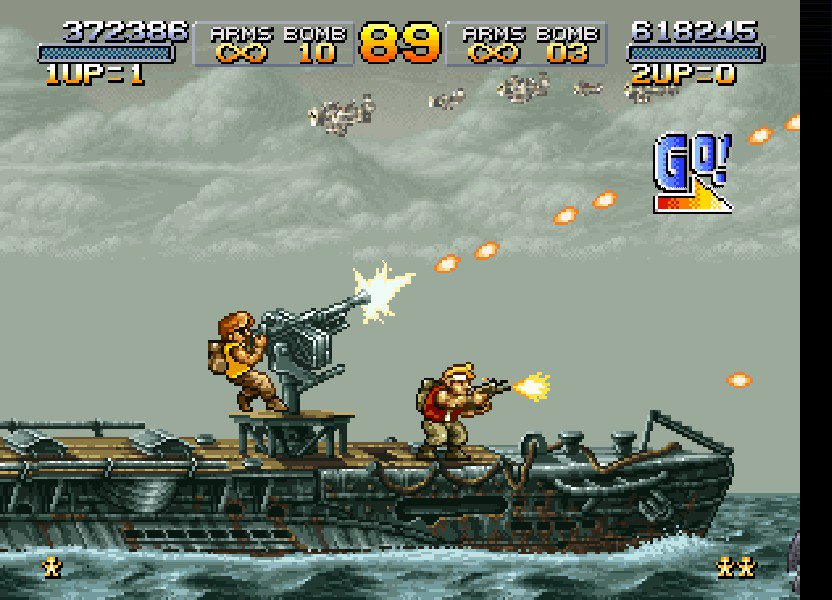 Metal Slug co-op