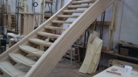 """Artistic Stairs Ltd. on Twitter: """"Hickory wood hourglass ..."""