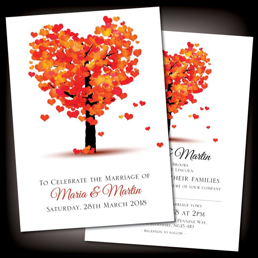 Rrp Co Uk Itm Summer Autumn Personalised Wedding Day Or Evening Reception Invitations Invites 320986582020 Var Hash Item4abc4a8c04 M