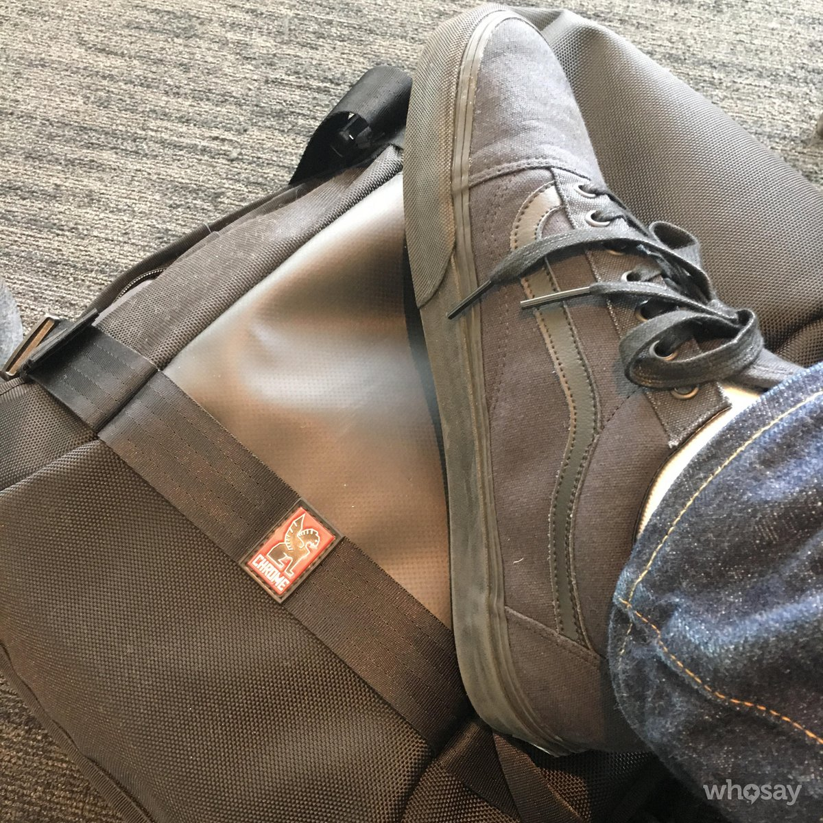 vans kitchen wrought iron chairs chris cosentino on twitter loving my new shoes and chrome industries luggage prototype culinary research trip
