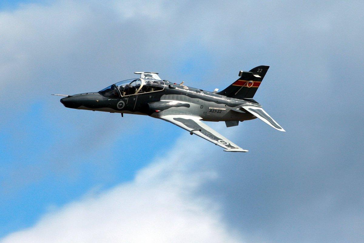 Air Force Cadet Hawk 127 flypast for Air Force Cadet