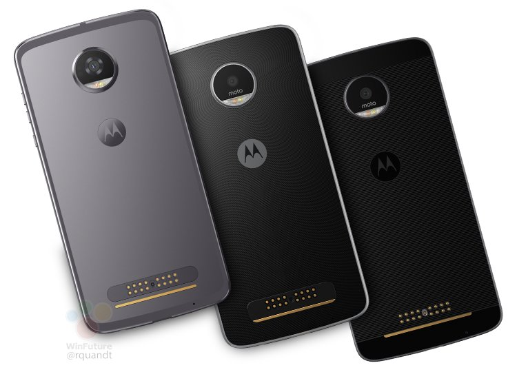 Lenovo Moto Z, Moto Z Play and the Moto Z2 Play
