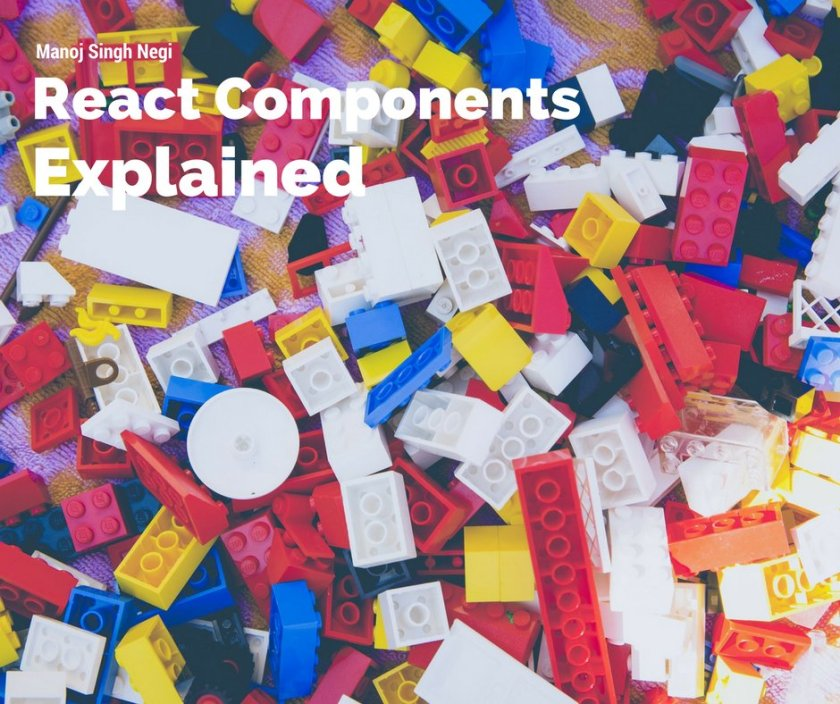 """React Components Explained"" by @manojnegiwd  #reactjs #NodeJS #javascript #coding"