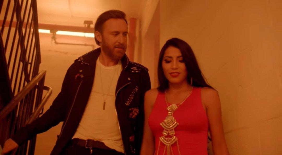 David Guetta - Light My Body Up Music Video ft. Nicki Minaj & Lil Wayne 6