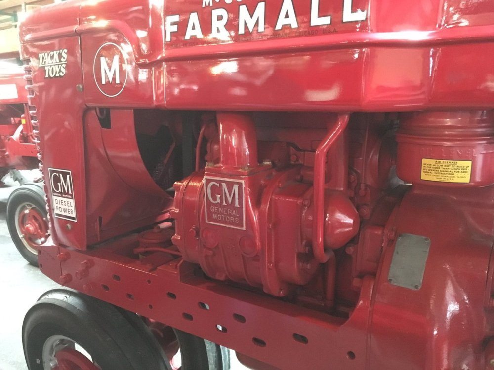 medium resolution of robin ferguson on twitter experimental prototype farmall m powered by a gm detroit diesel one of a kind