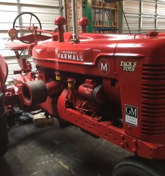 experimental prototype farmall m powered by a gm detroit diesel one of a kind pic twitter com adp4obctf2 [ 1200 x 900 Pixel ]