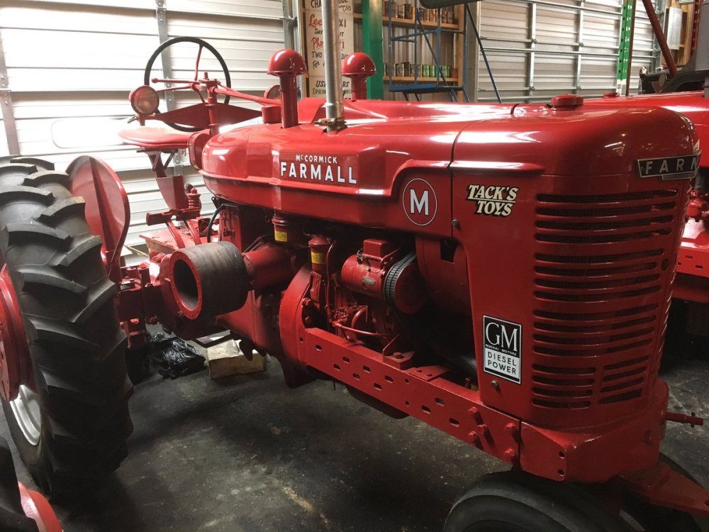 medium resolution of experimental prototype farmall m powered by a gm detroit diesel one of a kind pic twitter com adp4obctf2