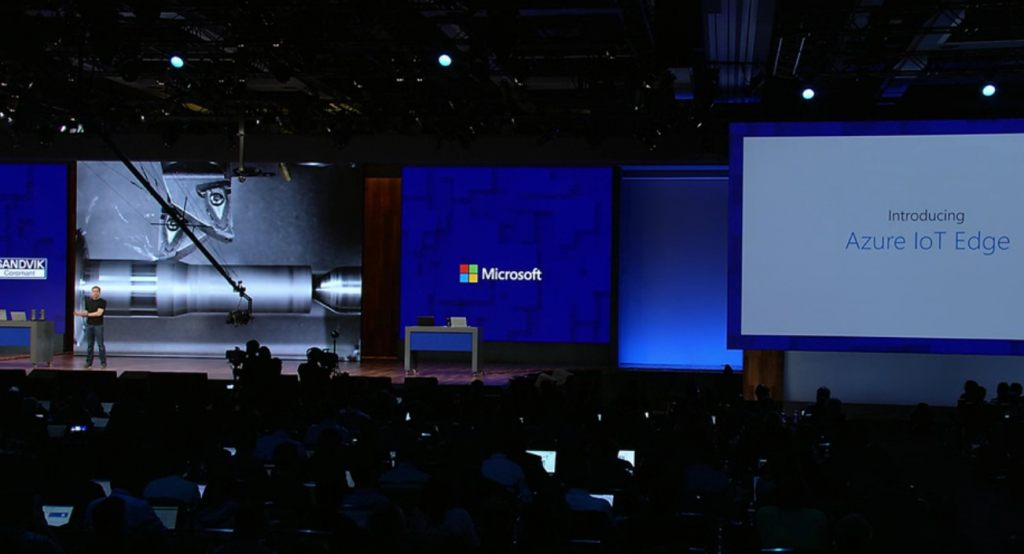 Microsoft Announced Azure IoT Edge and Azure Cosmos DB