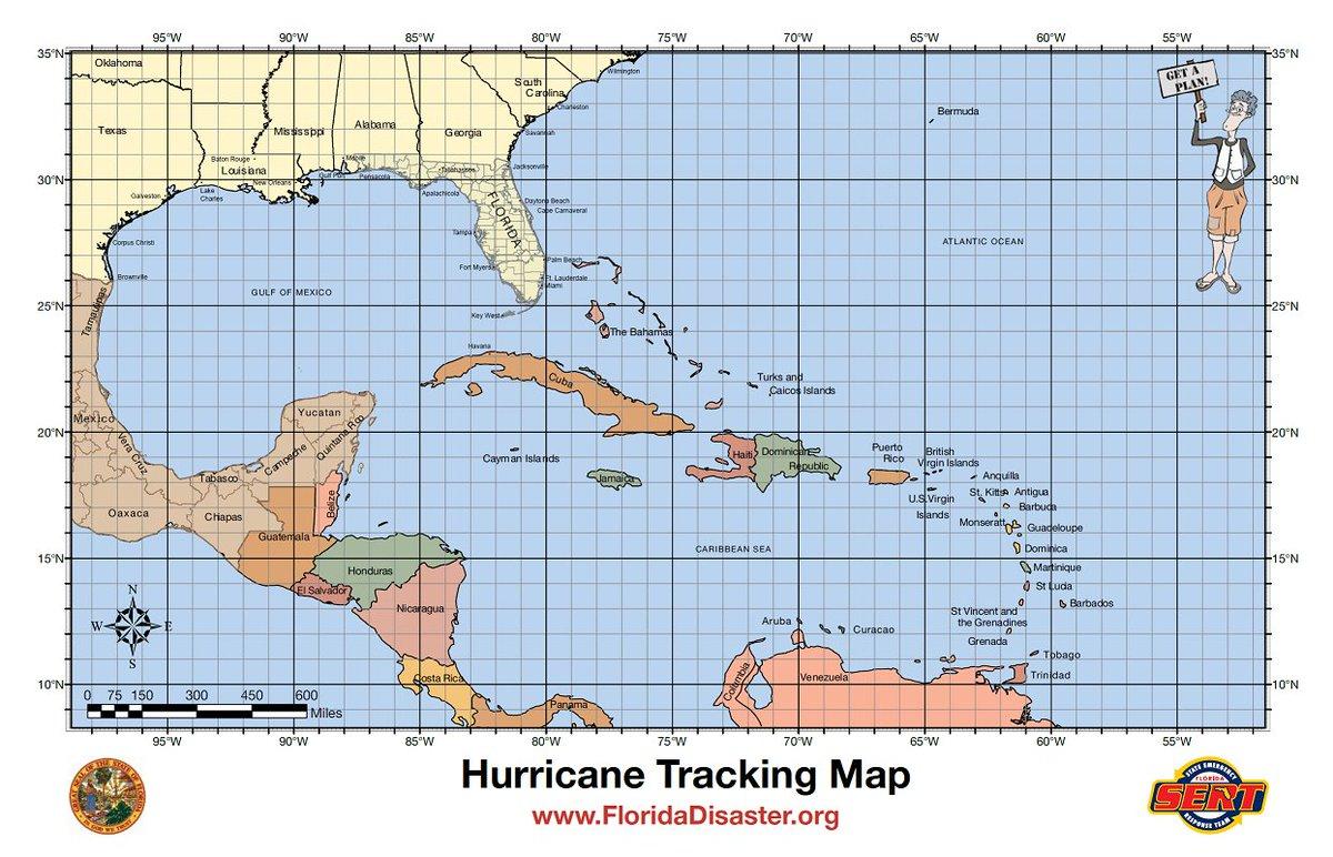 Hurricane Tracking Maps Printable That Are Shocking