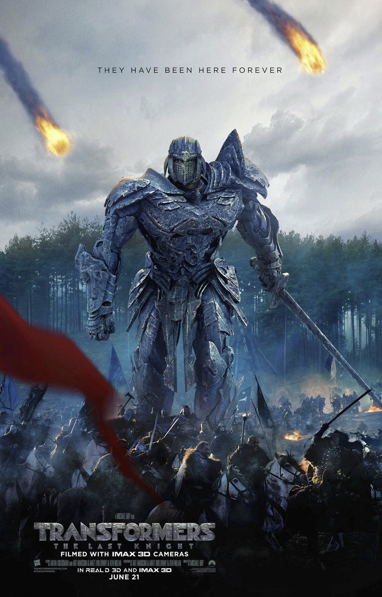 New Transformers: The Last Knight Posters Revealed