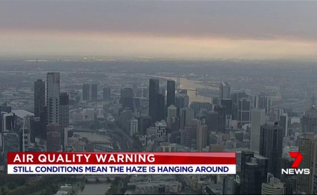 A Warning Has Been Issued About Air Quality In Melbourne