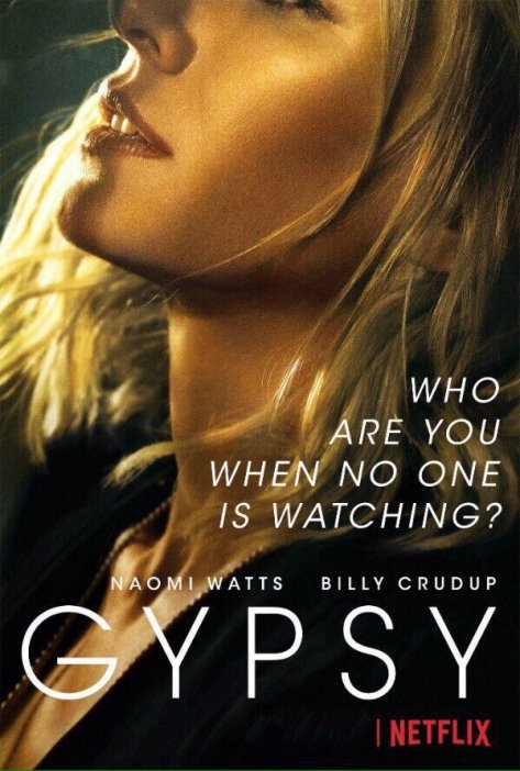 Naomi Watts in Gypsy poster op Netflix België