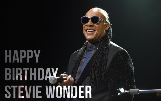 Stevie Wonder's Birthday Celebration HappyBday To