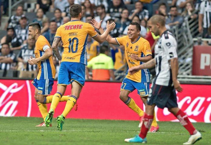 Gol de Gignac Tigres 2017