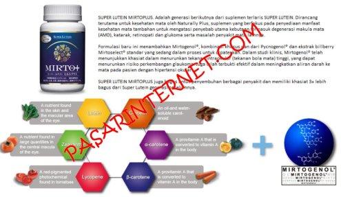 Suplemen vitamin untuk mata mirtoplus