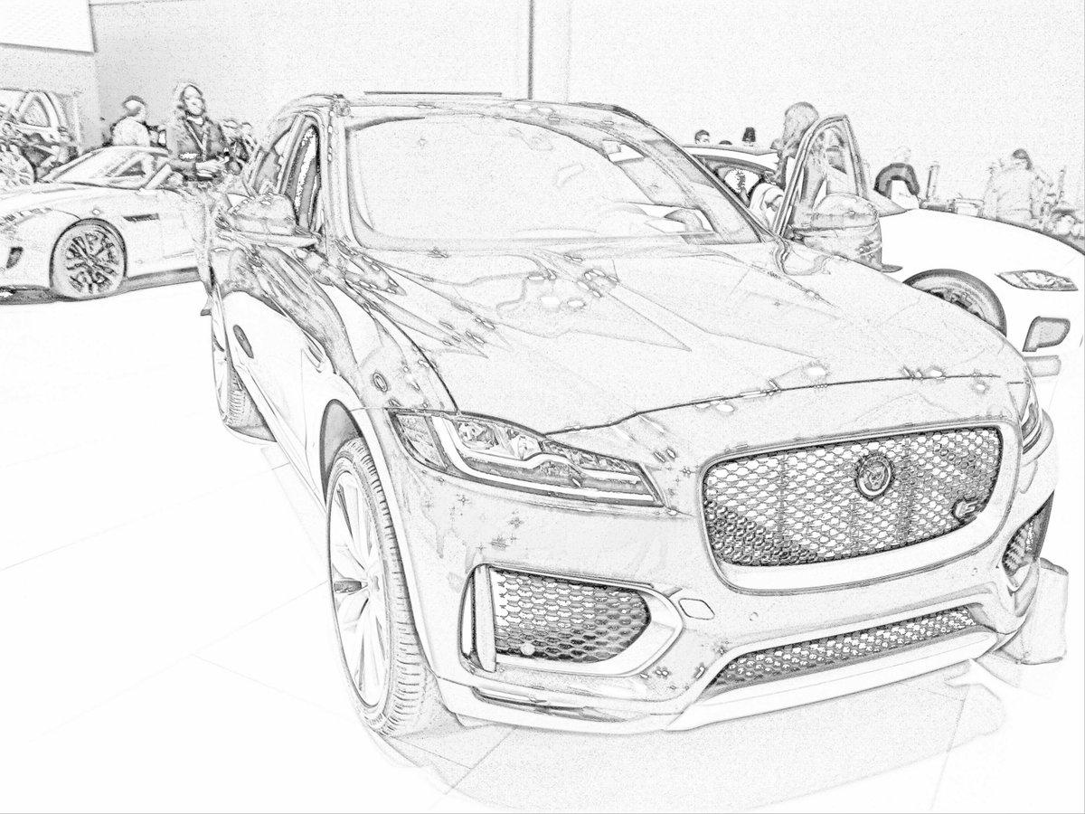 20 Inspiration Jaguar Car Drawing Images