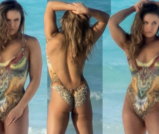 Ronda Rousey Gets Butt Naked On The Beach See The Photos Https