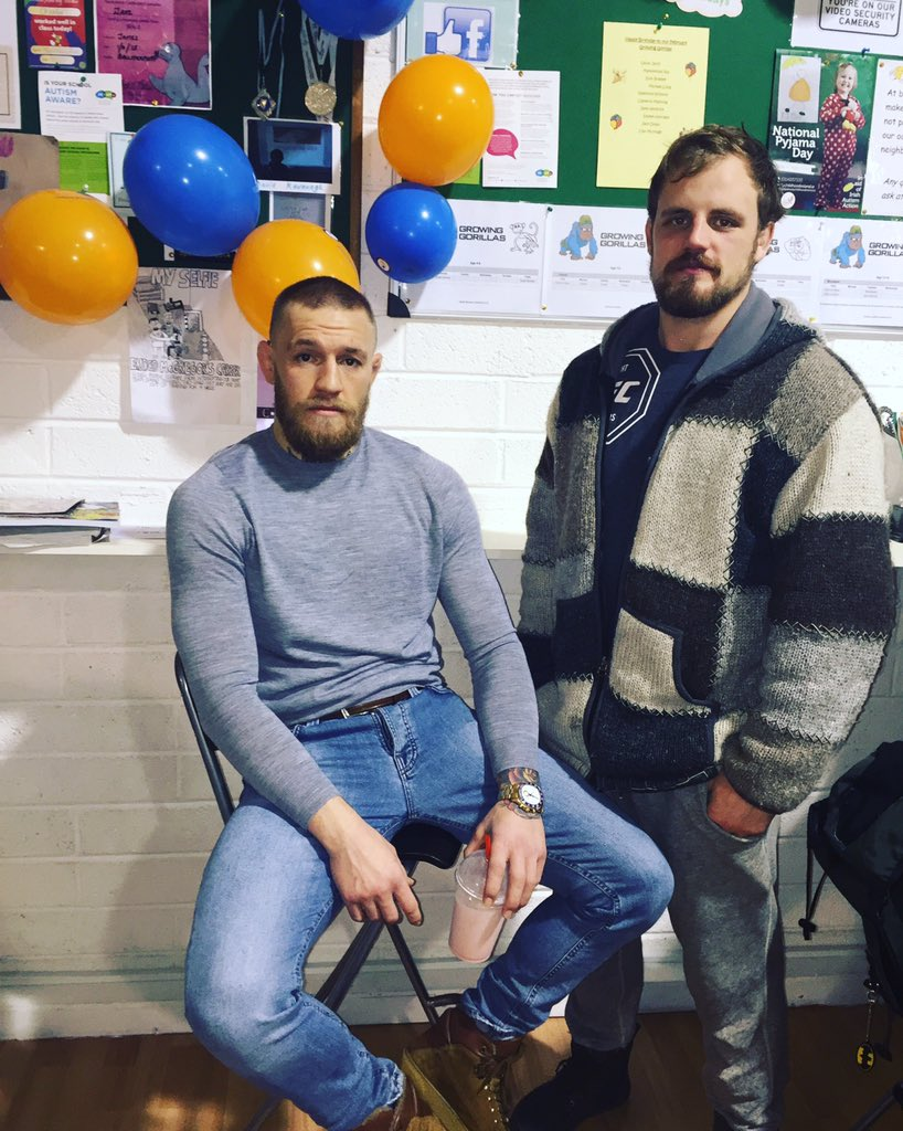 Conor McGregor On Twitter Great To Have My Brother