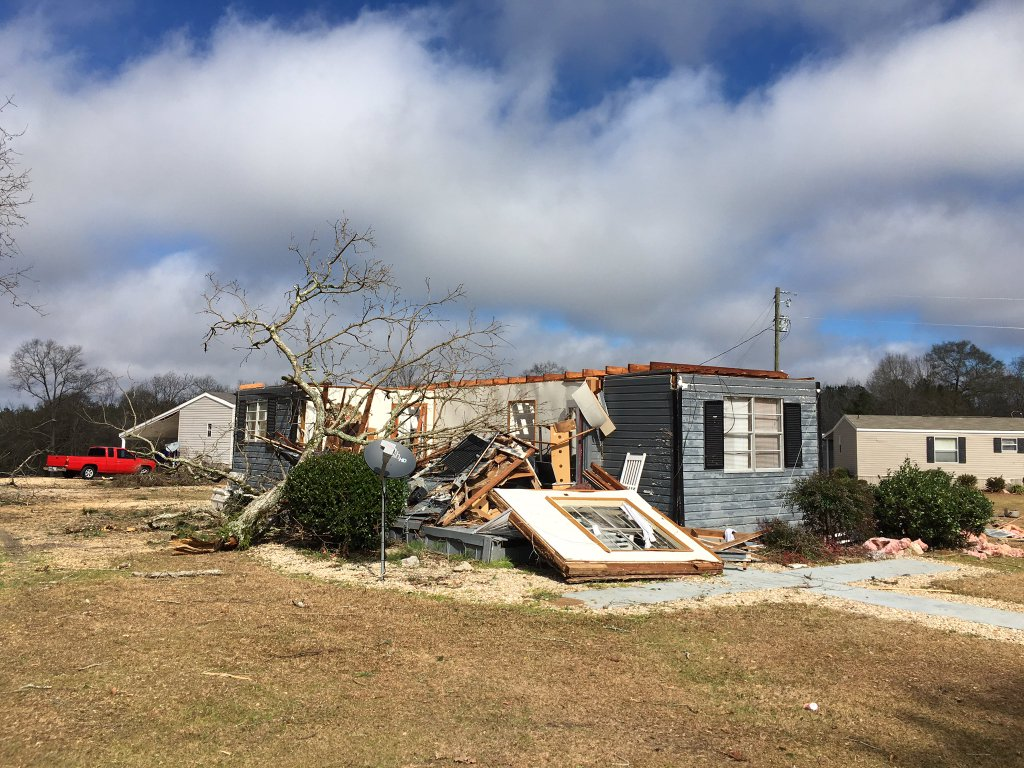 Image result for Severe weather hits US Southeast, claims two lives