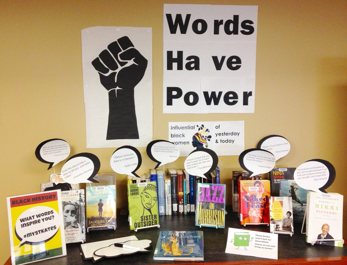 St Kate S Library On Twitter Come See Our Words Have
