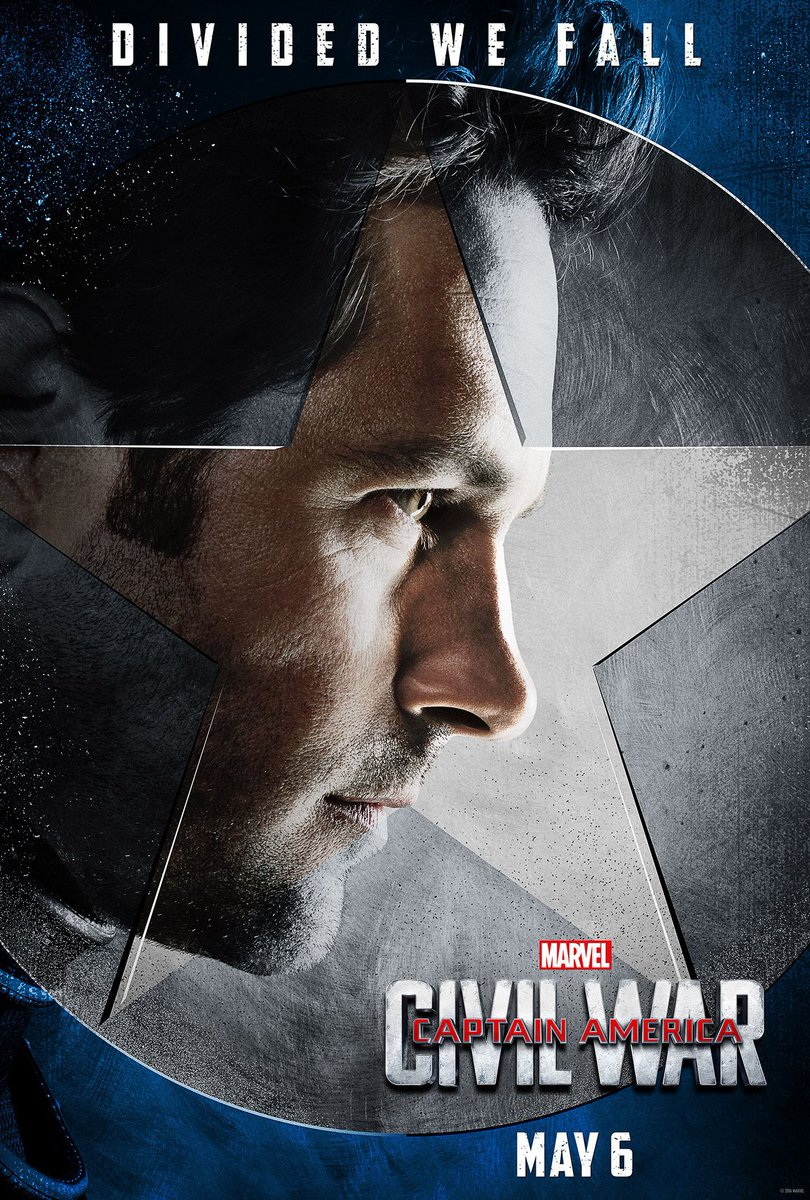 "Captain America: Civil War Character Posters Showcase ""Team Cap"" 6"