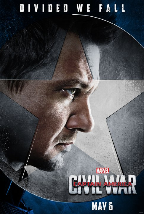 "Captain America: Civil War Character Posters Showcase ""Team Cap"" 3"