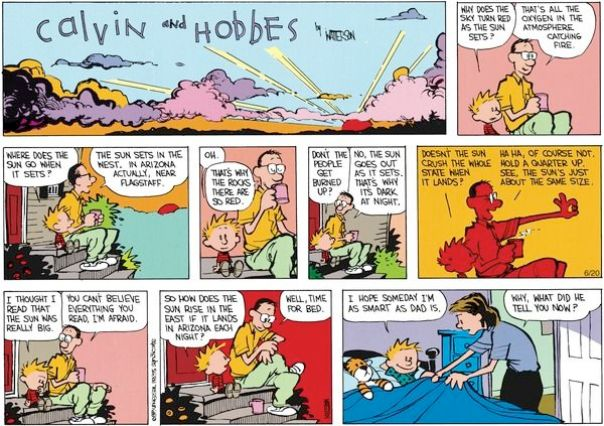 comic strip fallacies Justine, 3, for comic relief during the months of writing  issues and arguments,  (4) detecting and avoiding fallacies (reasoning errors), and.
