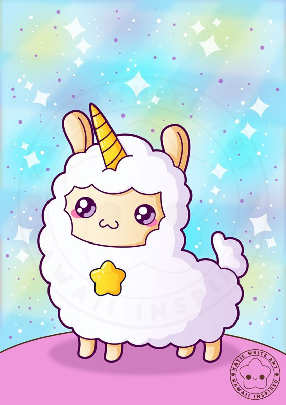 Cute Llamacorn Wallpaper Katie White On Twitter Quot Unicorn Alpaca The Most Elusive
