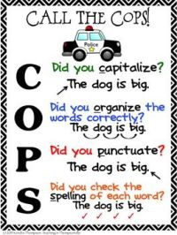 """CLLC on Twitter: """"Editing your writing? The COPS can help ..."""