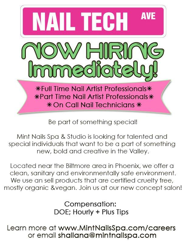 Salons Hiring Near Me : salons, hiring, Technician, Hiring, NailsTip