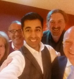 humza yousaf on twitter great night at joefitzsnp fundraiser oh and happy 49th birthday joe fab team in dundee setting the pace  [ 1200 x 675 Pixel ]