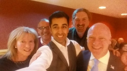small resolution of humza yousaf on twitter great night at joefitzsnp fundraiser oh and happy 49th birthday joe fab team in dundee setting the pace