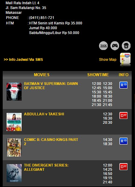 Jadwal Film Xxi Mall Panakkukang Makassar : jadwal, panakkukang, makassar, Muhammad, Firman, (@muhammadfirmanr), Twitter