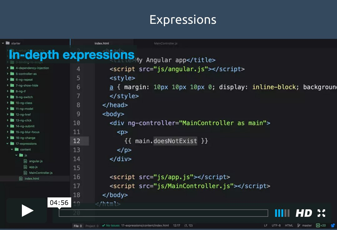 😄 Two free videos are out from Ultimate AngularJS Starter course! Expressions and ng-switch: