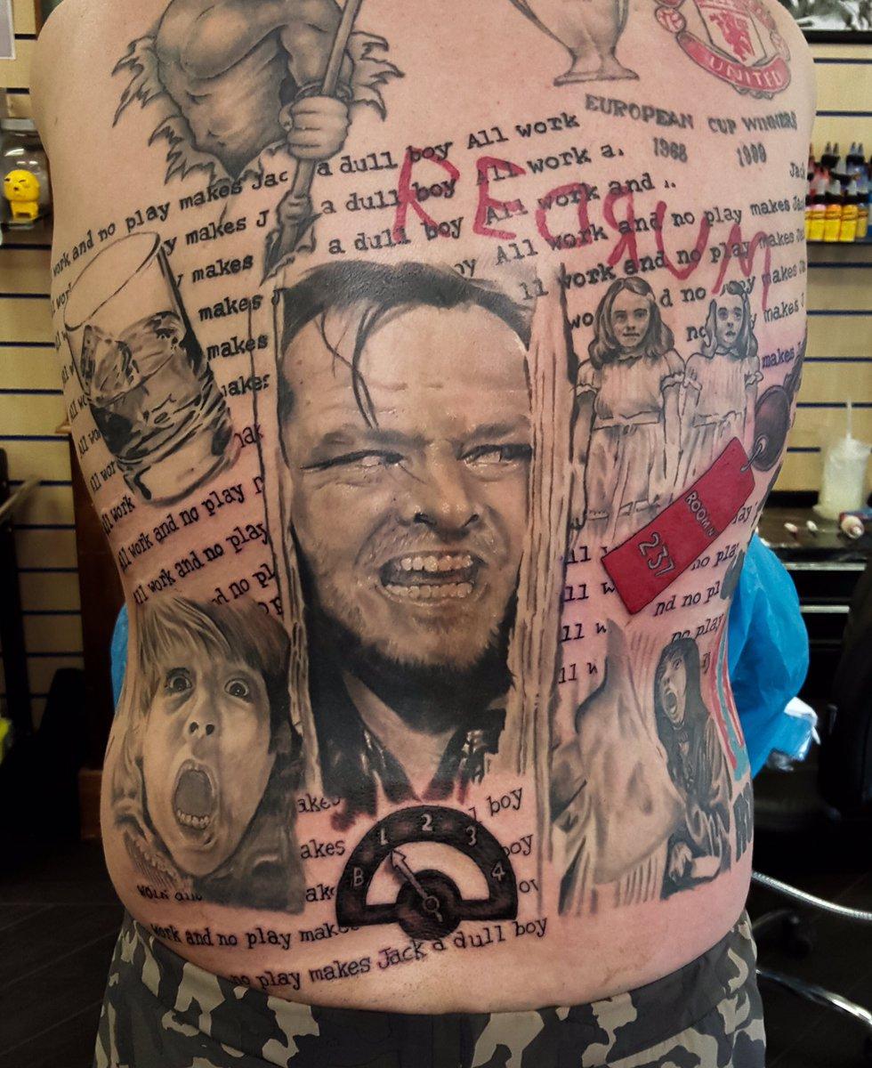 The Shining Tattoo : shining, tattoo, Gavin, Clarke, Tattoos, Twitter:,