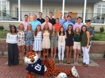 2017 Auburn University Cheerleaders