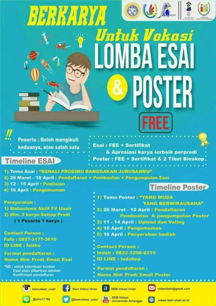 Pendaftaran Vokasi Unair : pendaftaran, vokasi, unair, Universitas, Airlangga, Twitter:,