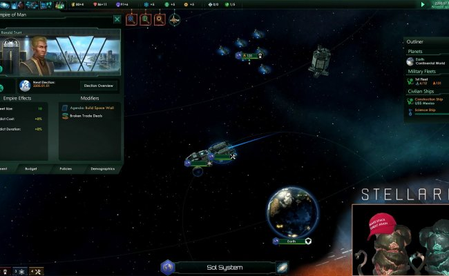 Stellaris Paradox Dev Studios New Sci Fi Grand Strategy