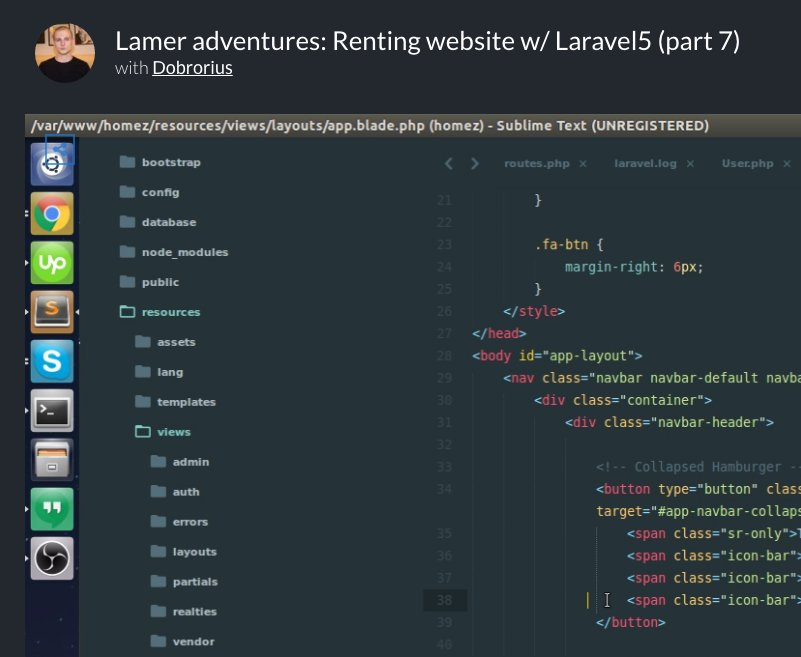 Learn how to build a renting website with Laravel    #laravel #php #angularjs #vuejs #reactjs