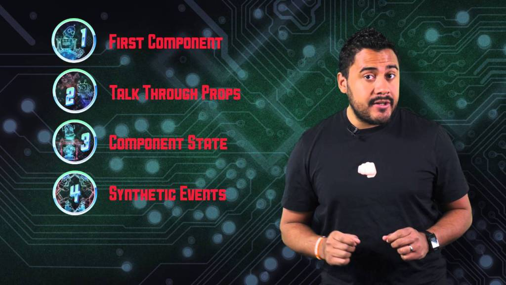 Powering Up with React Course Intro #angularjs #facebook #javascript #reactjs