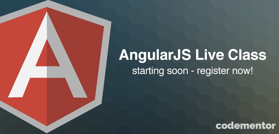 Learn to Build AngularJS Apps with our Live Class online  @mgadams3 #angularjs #javascript