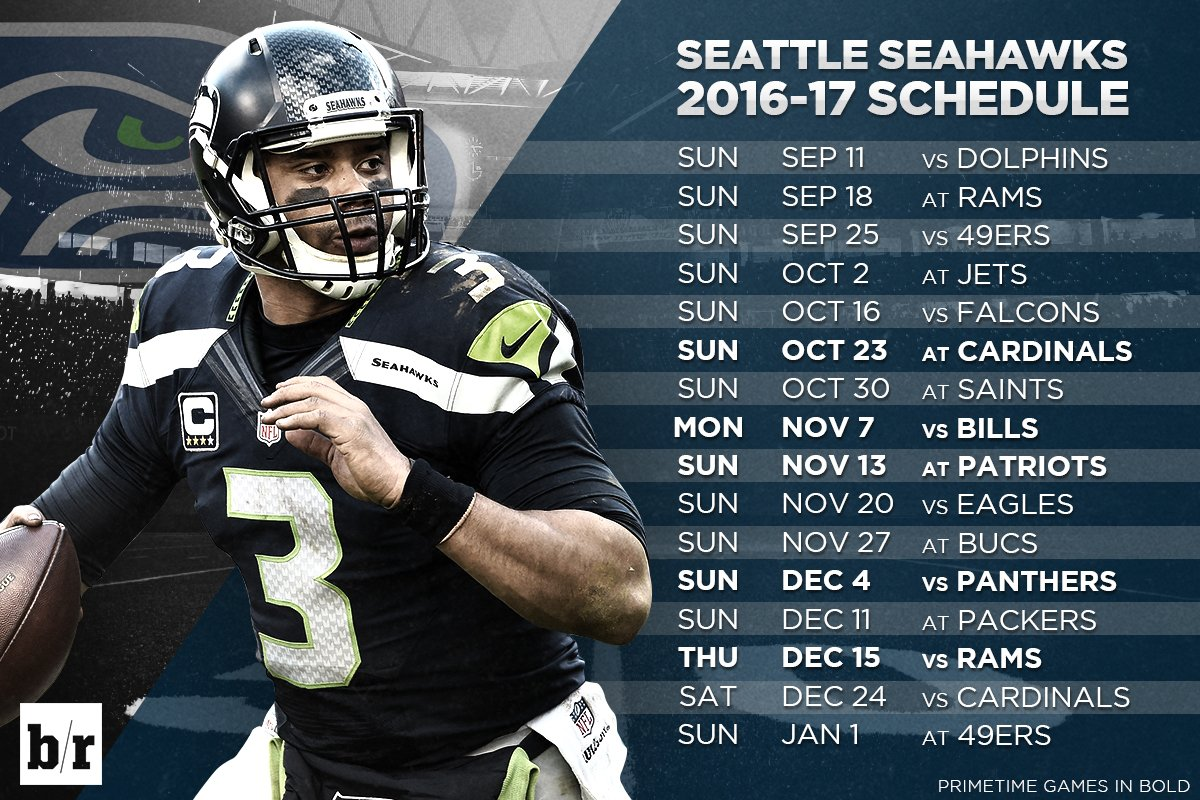 picture about Seattle Seahawks Schedule Printable identified as 20+ Seattle Seahawks 2017 Agenda Printable Photos and