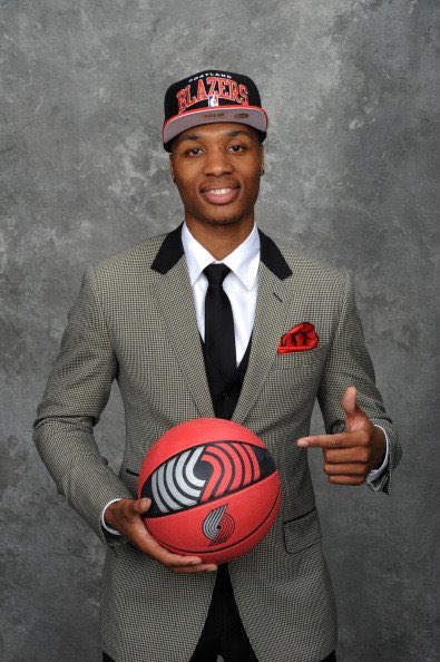 Image result for damian lillard draft