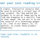 ng-readingtime : Angularjs Directive to get ReadingTime