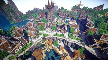 Epic Minecraft Medieval City 4