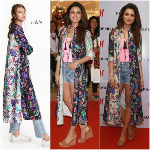parineeti chopra at h&m launch spotlightxoxo