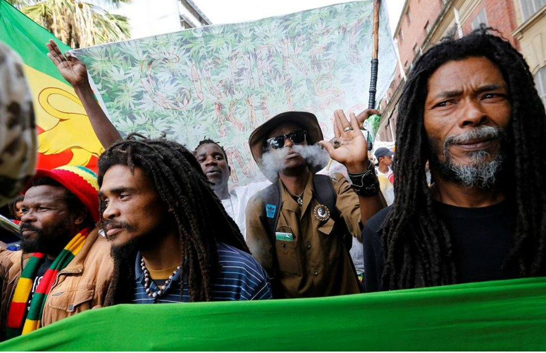 Thousands take Part in Pro-Cannabis Protests in South Africa #Africa #protest #legalization