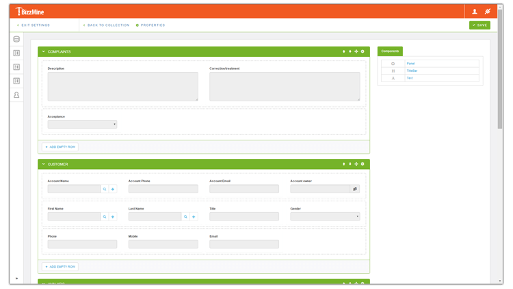 Check out the #BizzMine Form Designer. Developed with #angularjs #bootstrap #javascript #CSS